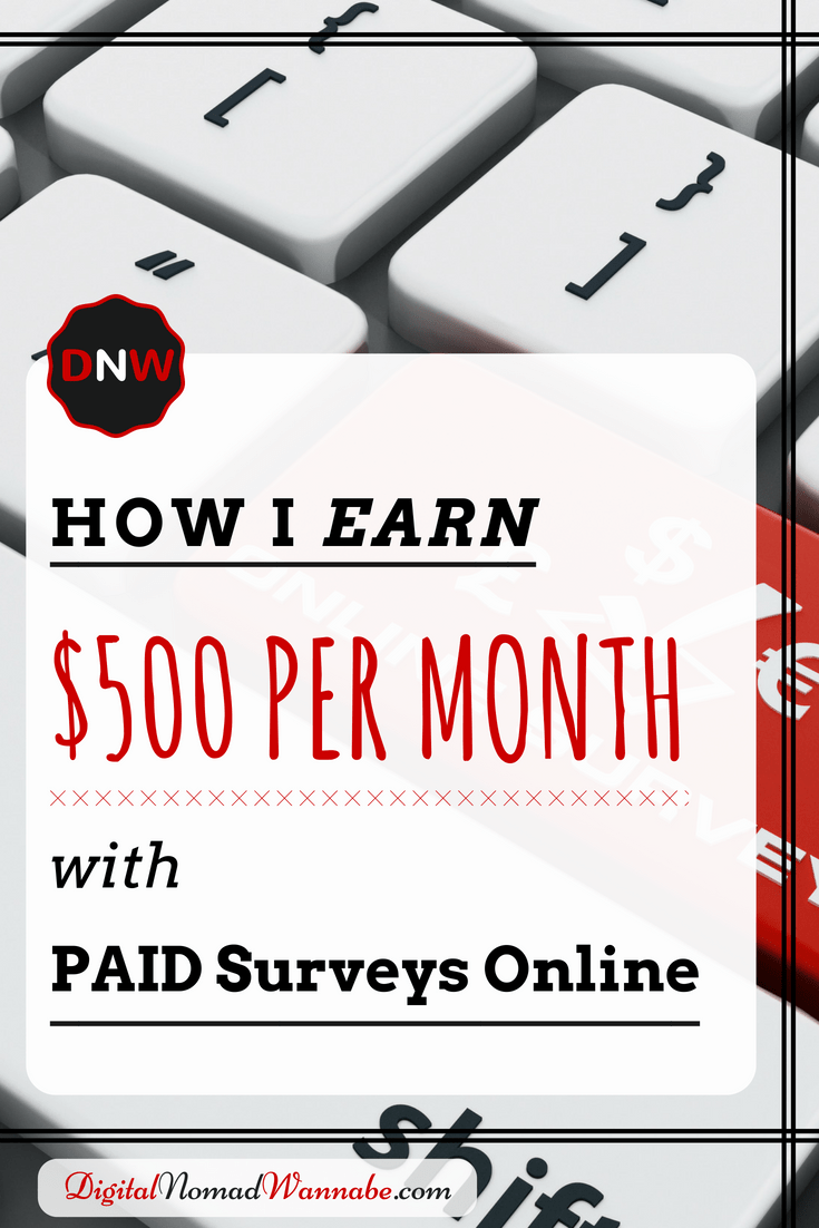 Make Money Completing Surveys! How To Earn $500 Per Month
